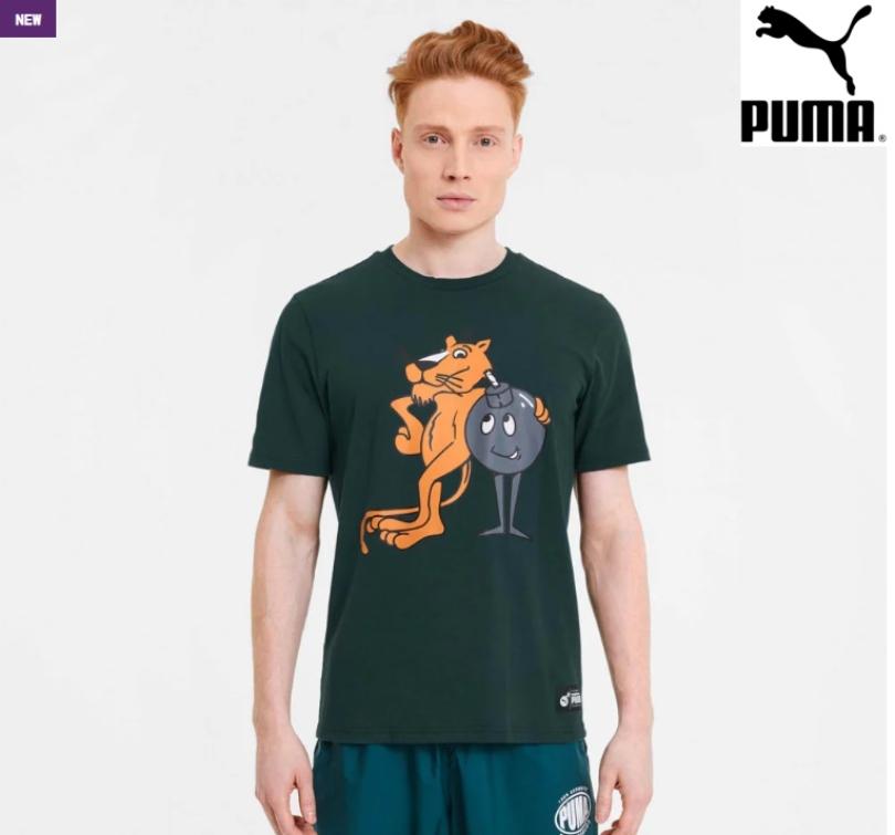 Puma x TH Tee Ponderosa Pine 596750-38
