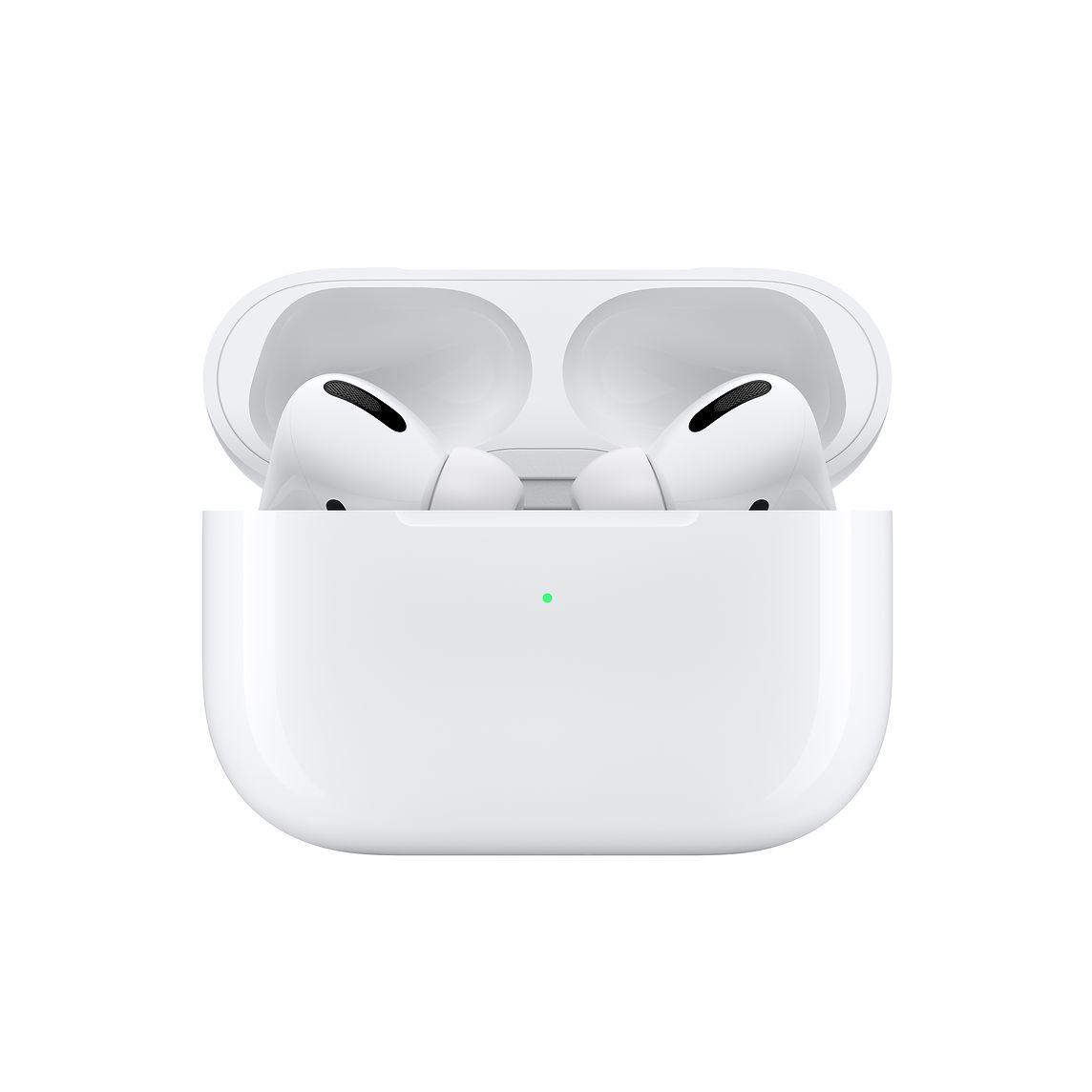 Bluetooth Handsfree Apple AirPods Pro με Θήκη Φόρτισης - Λευκό