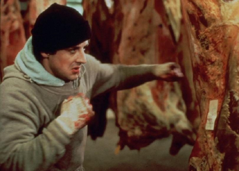 Ο Stallone προπονείται ως Rocky