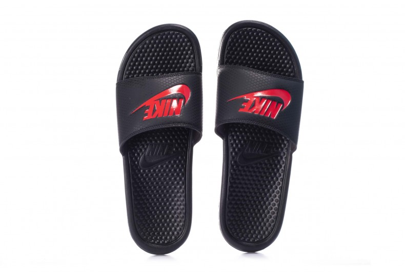 NIKE BENASSI JUST DO IT 343880-060 Μαύρο