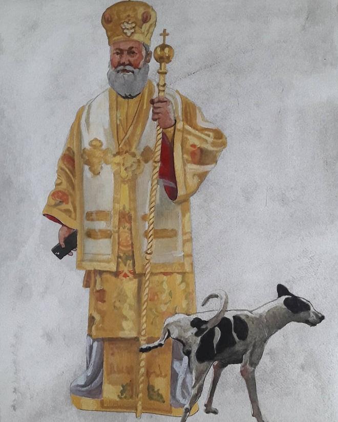 γιωργος γαβριήλ πίνακες χριστός κύπρος