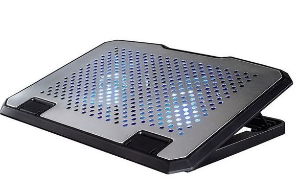 Hama Aluminium Notebook Cooler Βάση Laptop