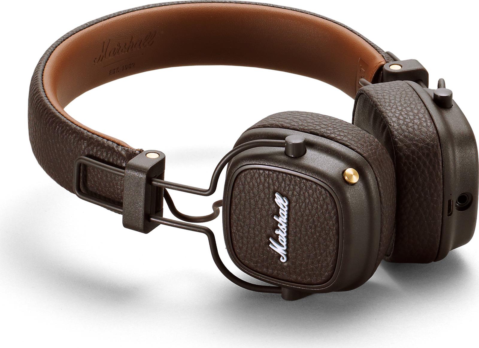 Ακουστικά Κεφαλής Marshall Major III Bluetooth- On Ear Καφέ