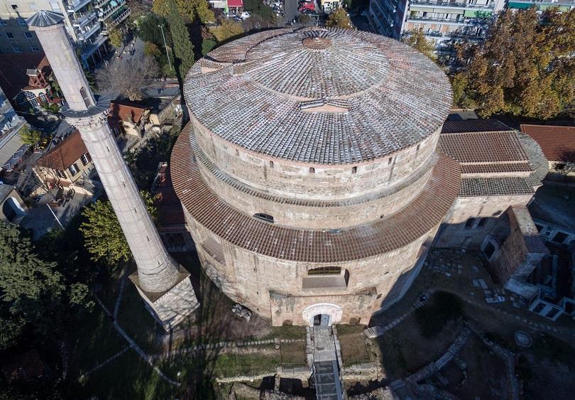 ροτοντα θεσσαλονικη αρχαια βυζαντιο