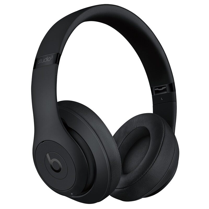 Beats Studio 3 Matte Black | Plaisio
