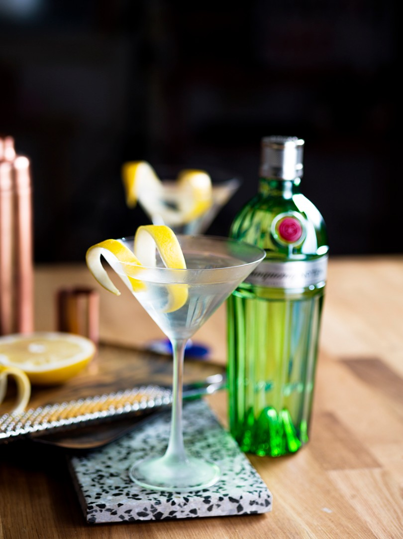 Dry Martini με Tanqueray No. TEN gin