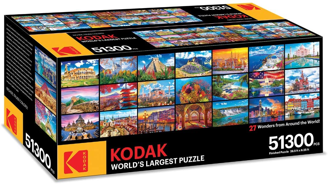 World's Largest Puzzle 27 Wonders from Around the World