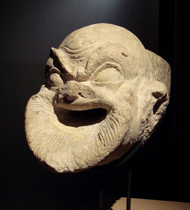 αρχαια μασκα θεατρου