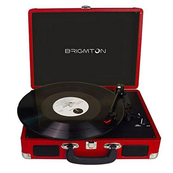 Πικάπ Brigmton Btc-404 2 X 1w Κόκκινο