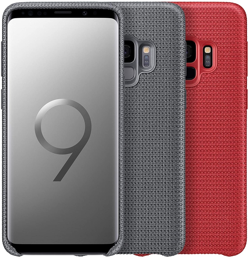 SAMSUNG Θήκη Hyperknit Cover Red για Galaxy S9 Plus