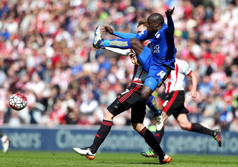 Ο Kante σε ματς της Leicester.