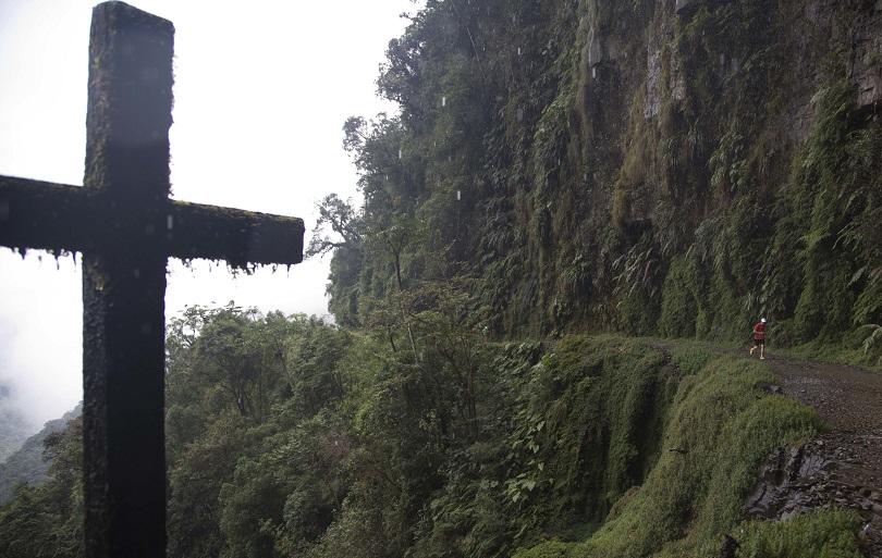 Ο Death Road στη Βολιβία.