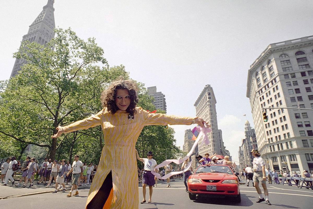 Εικόνα από το Gay Pride της Νέας Υόρκης.