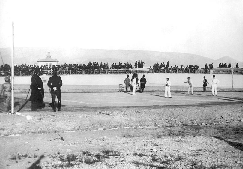 Τένις στου Oλυμπιακούς του 1896.