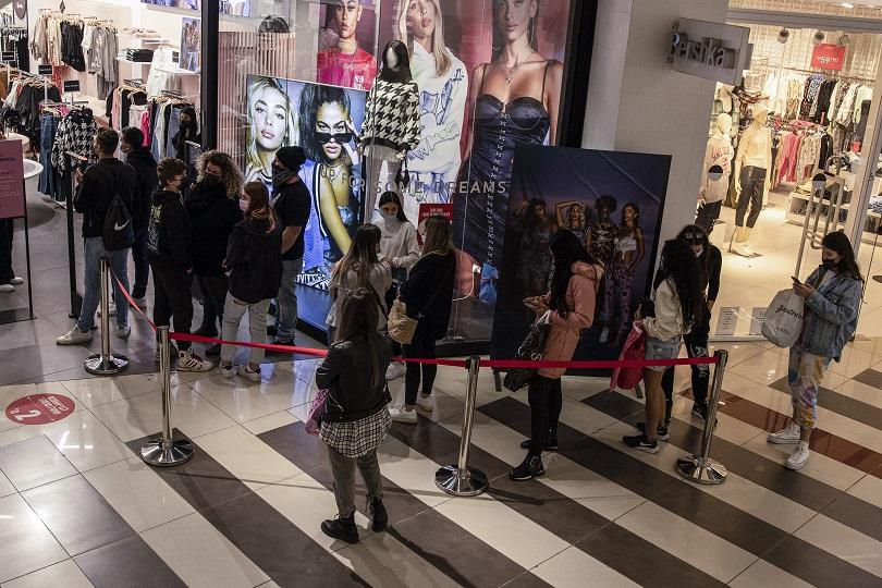 Ισραηλινοί σε Mall στο Ισραήλ.