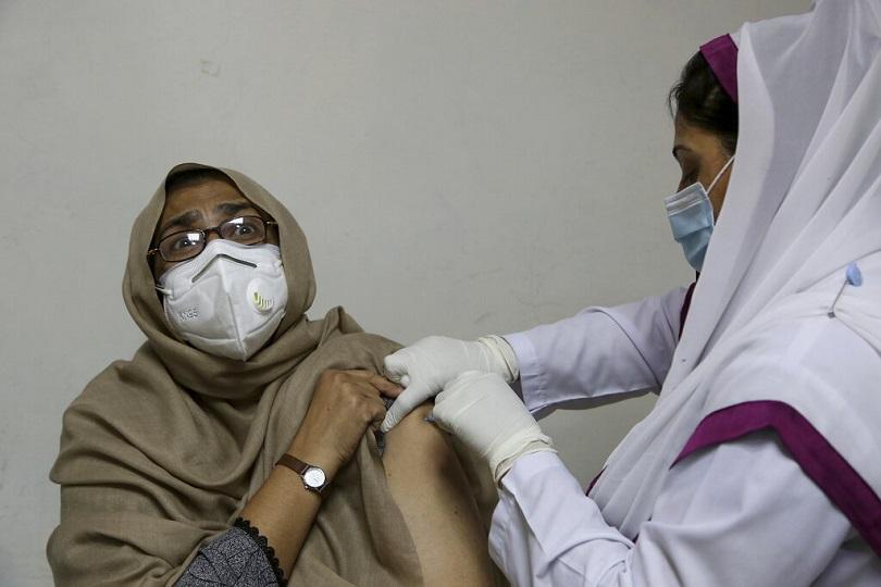 Εμβολιασμός με sinopharm στο Πακιστάν.