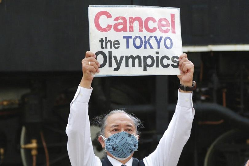 Ολυμπιακοί Αγώνες του Τόκυο: Aντιδράσεις στην Ιαπωνία.
