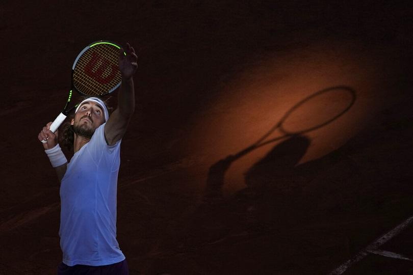 Ο Τσιτσιπάς στον τελικό του Ρολάν Γκαρός.