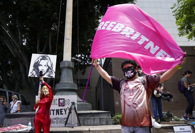 Υποστηρικτές του Free Britney.