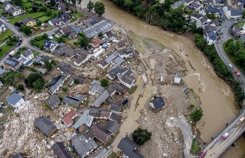 Οι πλημμύρες στην Κεντρική Ευρώπη.