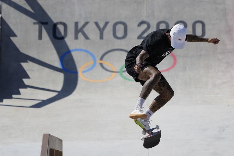 Το skateboard στους Ολυμπιακούς Αγώνες.