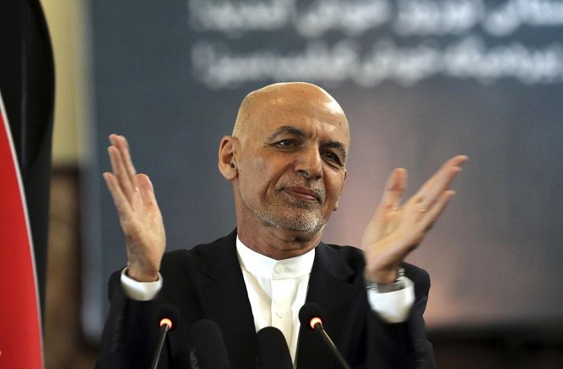 O Ashraf Ghani, πρώην Πρόεδρος του Αφγανιστάν.