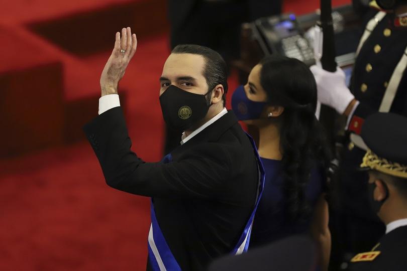 Ο Πρόεδρος του Ελ Σαλβαδόρ, Bukele.