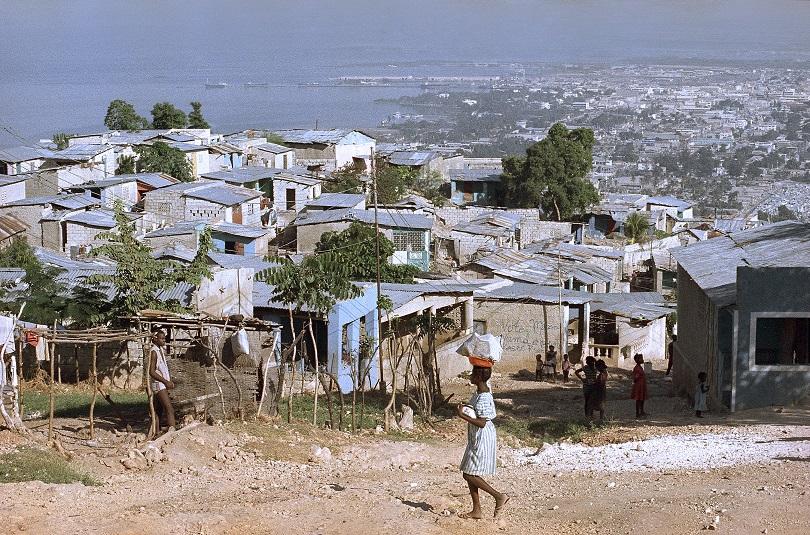 Η πρωτεύουσα της Αϊτής.