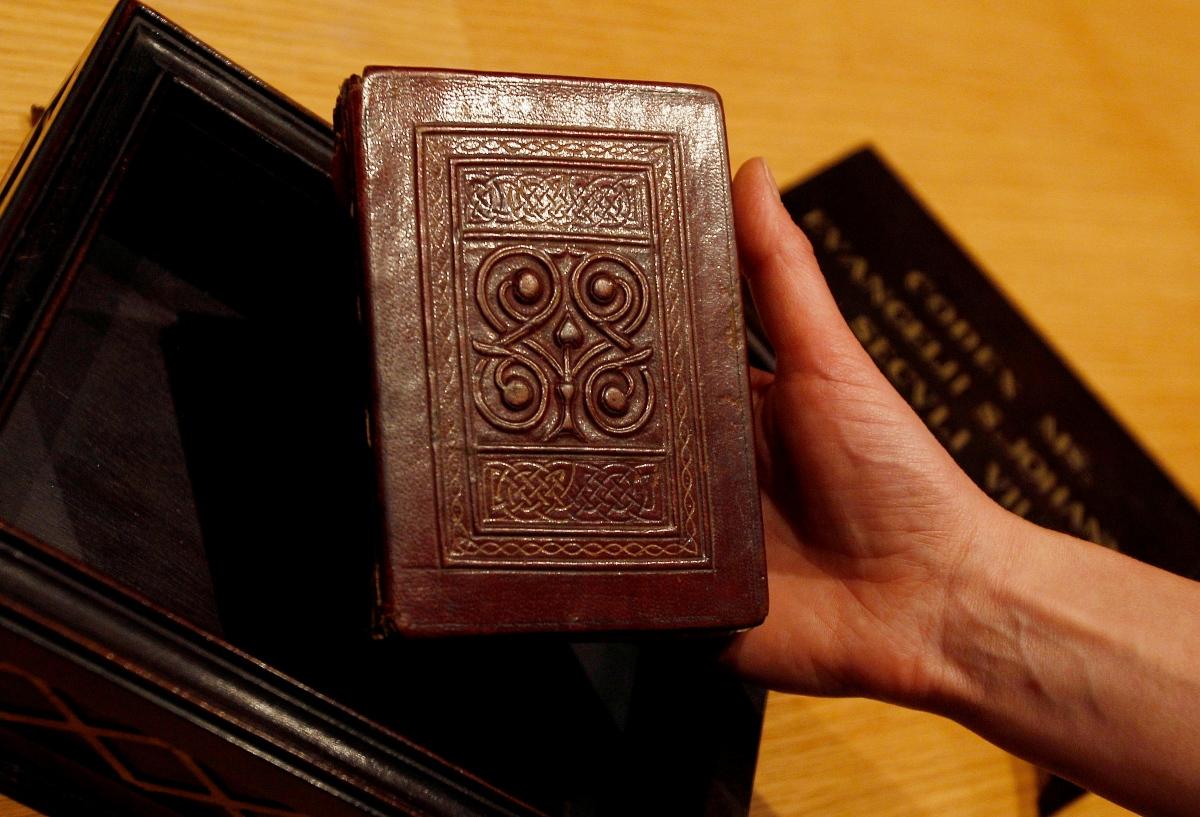 The St. Cuthbert Gospel
