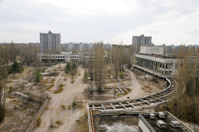 Άλογα στο Chernobyl
