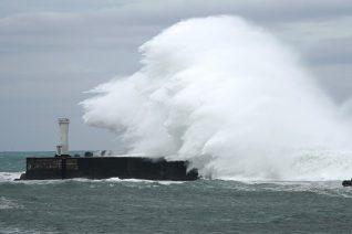 Ο τυφώνας Malakas που σάρωσε τις ακτές της Ιαπωνίας