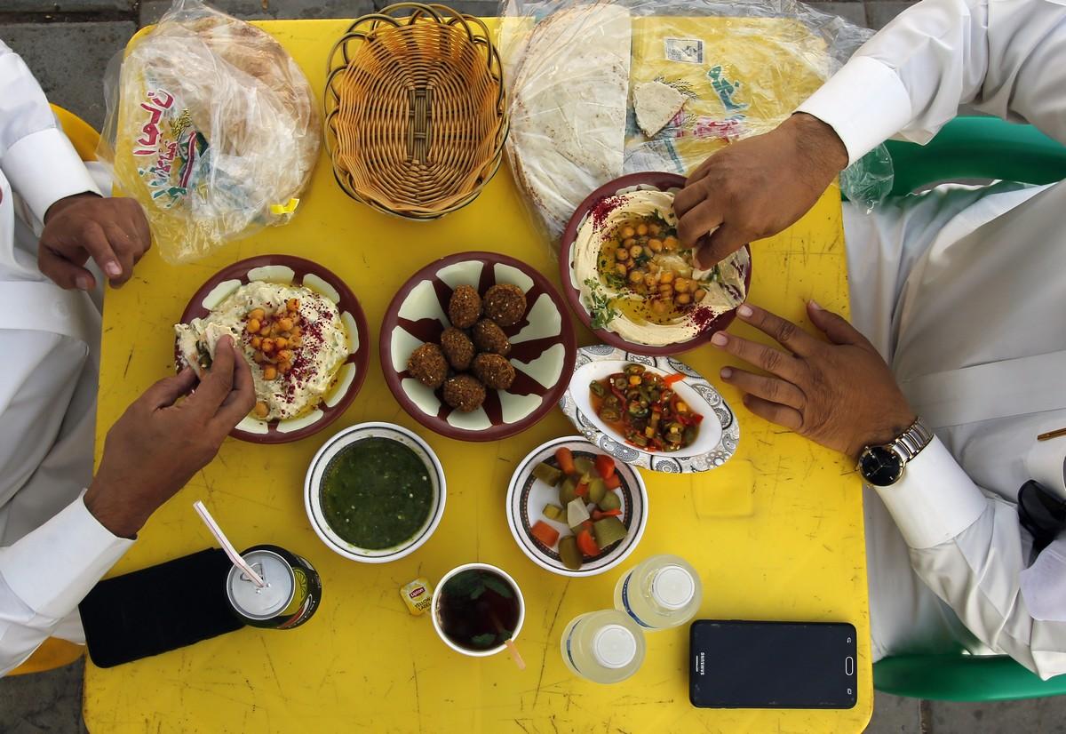 Παραδοσιακό πρωινό Σαουδική Αραβία