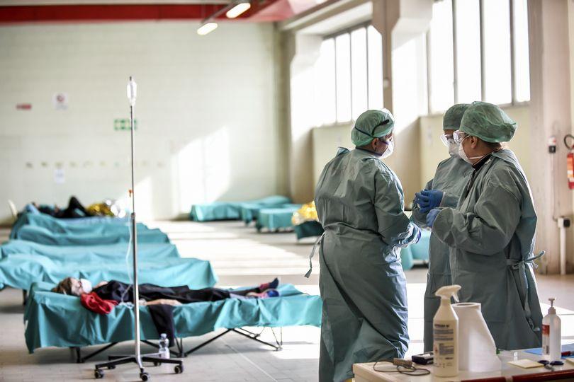 κορονοϊός νοσοκομείο ιταλία