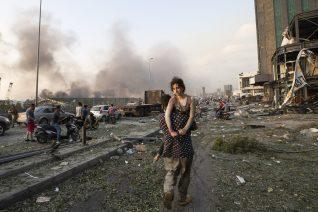 12 συγκλονιστικές φωτογραφίες από την καταστροφή στη Βηρυτό