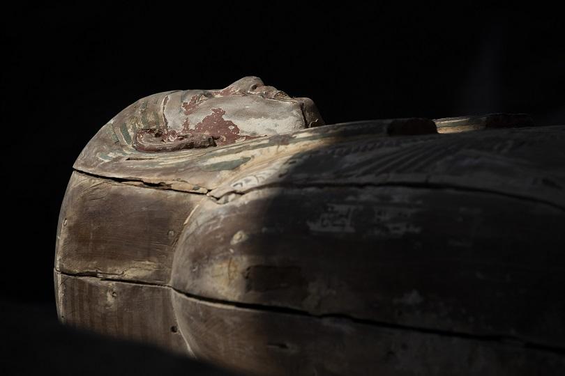 σαρκοφαγος μουμια τουταγχαμων αιγυπτος