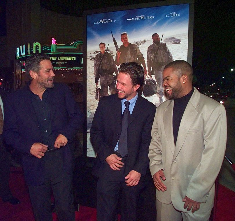 george clooney mark wahlberg ice cube
