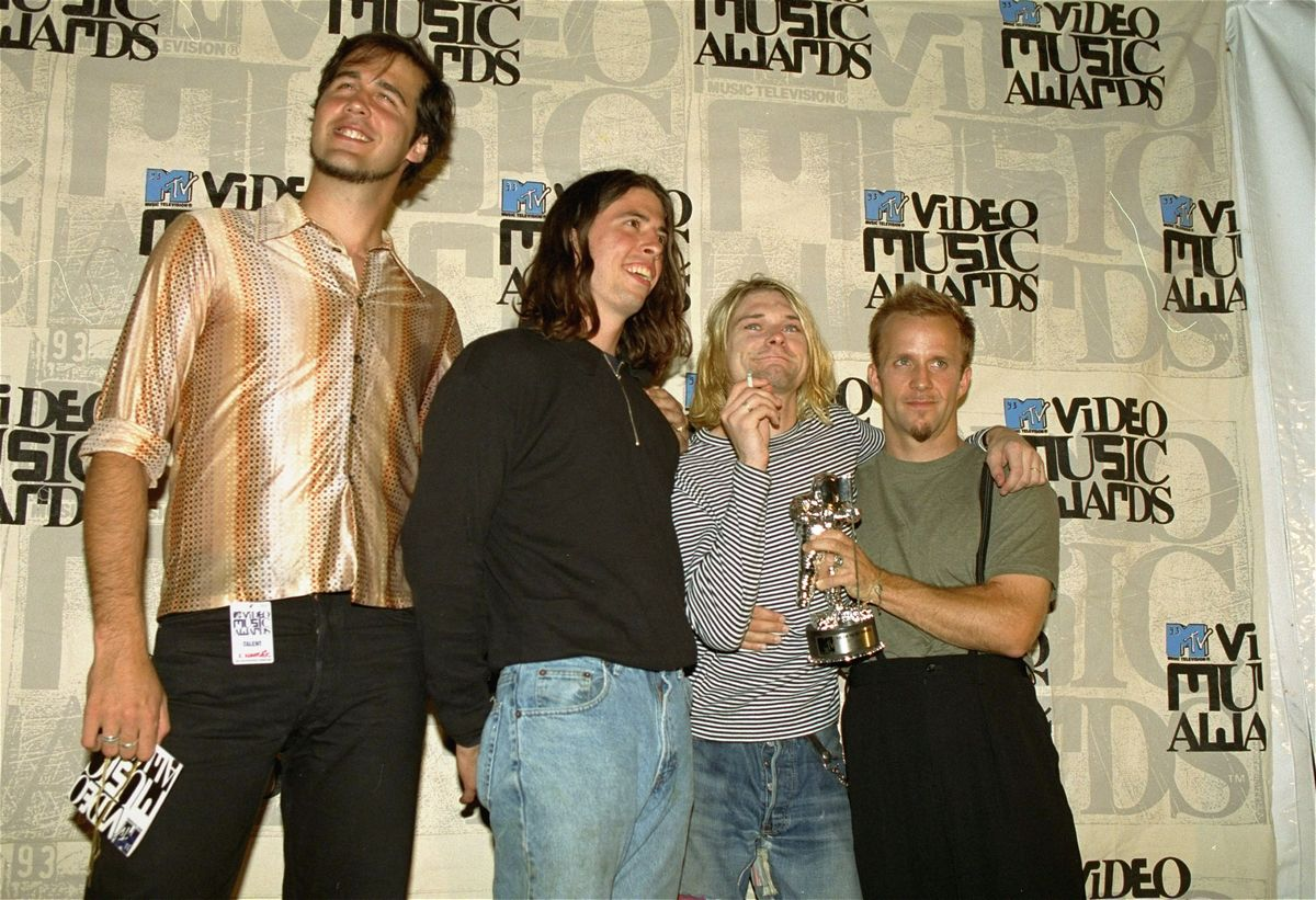 1993 Nirvana Chris Novoselic Dave Grohl Kurt Cobain
