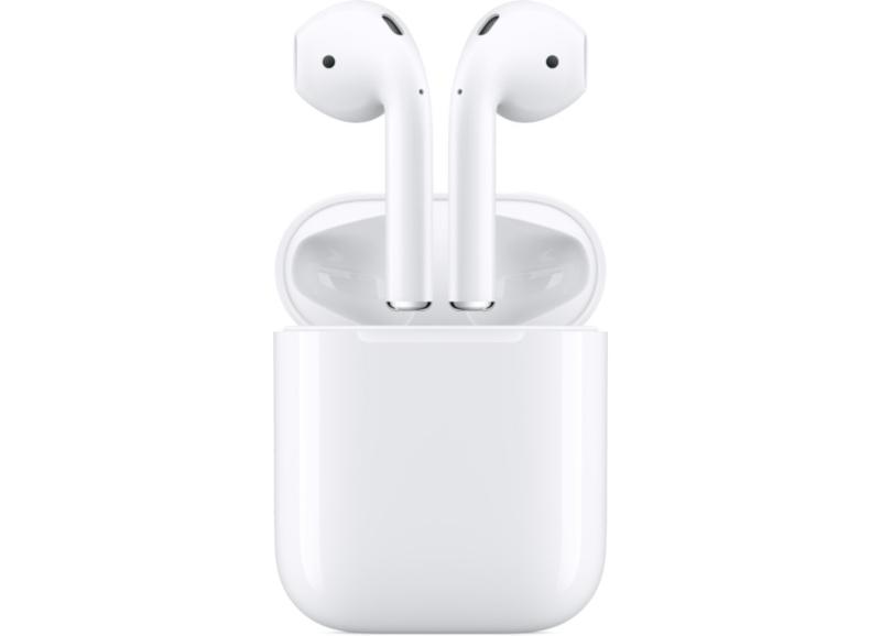 Bluetooth Handsfree Apple AirPods με Θήκη Φόρτισης - Λευκό