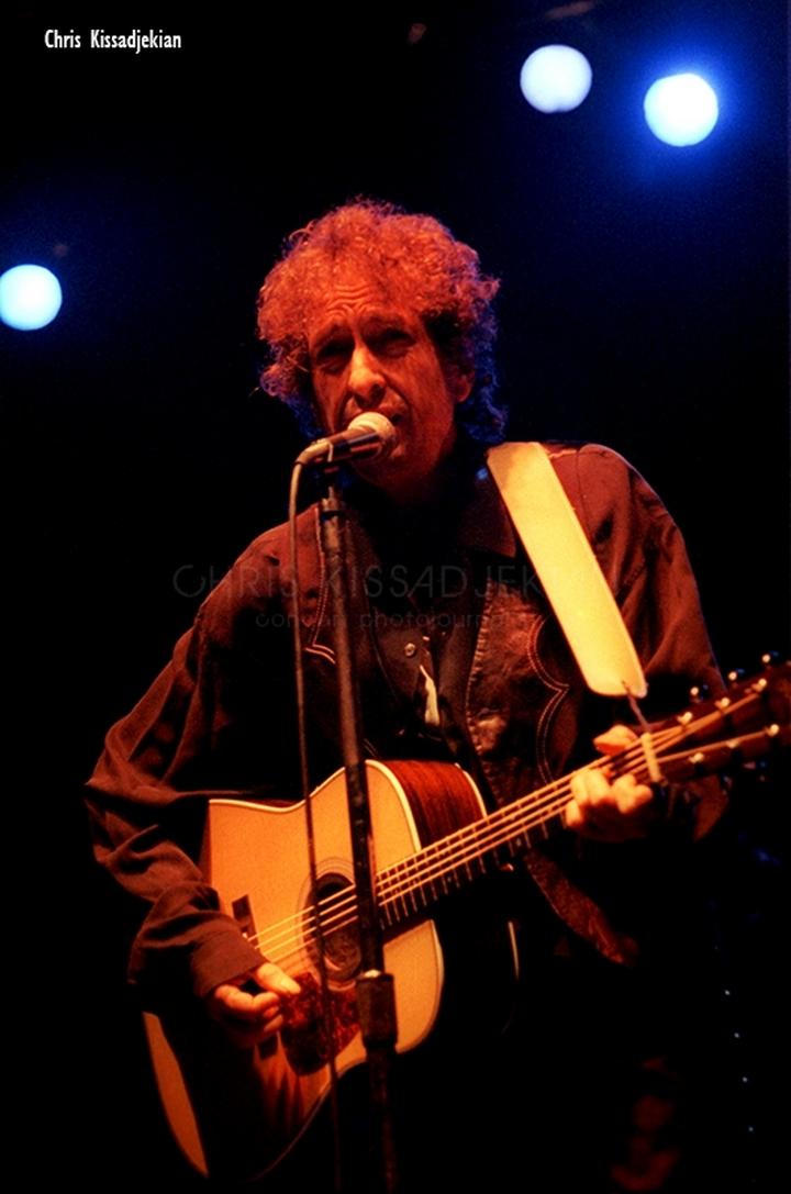 Ο Bob Dylan στον Λυκαβηττός Αθήνα 1993