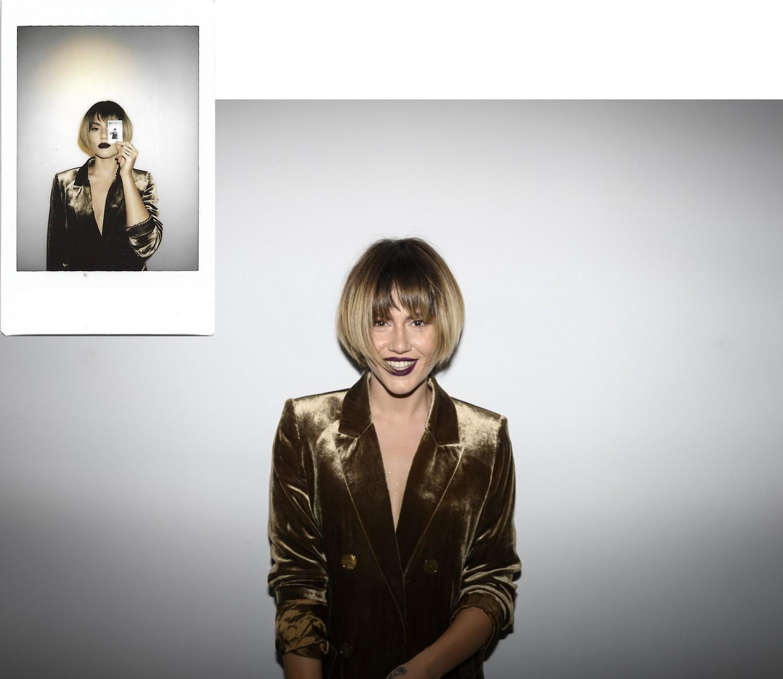 Έλενα Τσαγκρινού, τραγουδίστρια. Οι φωτογραφίες τραβήχτηκαν στο