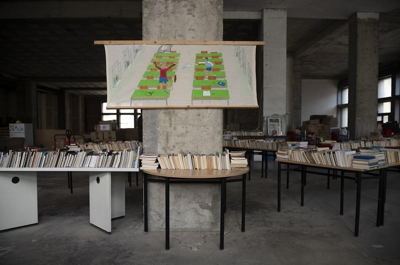 Παλαιοβιβλιοπωλείο αστέγων