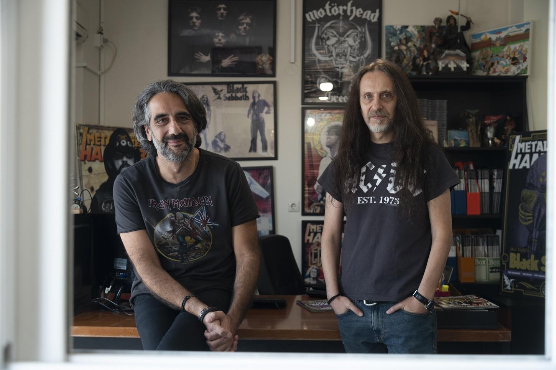Metal Hammer, συνέντευξη από τον Κώστα Χρονόπουλο και τον Χάκο Περβανίδη.