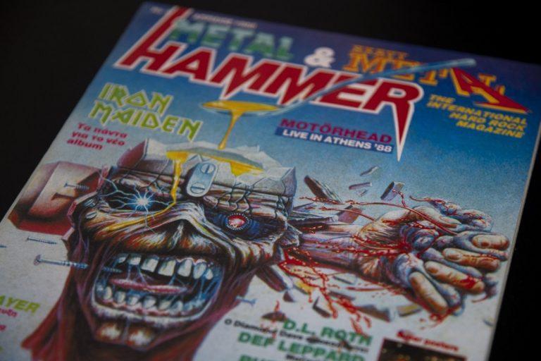 Metal Hammer, συνέντευξη από τον Κώστα Χρονόπουλο και τον Χάκο Περβανίδη. Παρασκευή 23 Ιουλίου 2021.