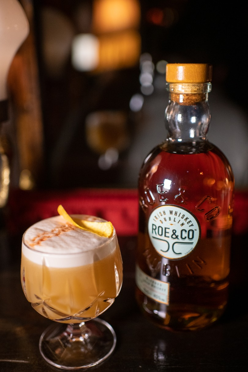 Whiskey Sour με Roe & Co Irish Whiskey