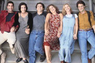 Η κομμένη διαφήμιση των Friends που τους έδειχνε μόνο με τα εσώρουχα
