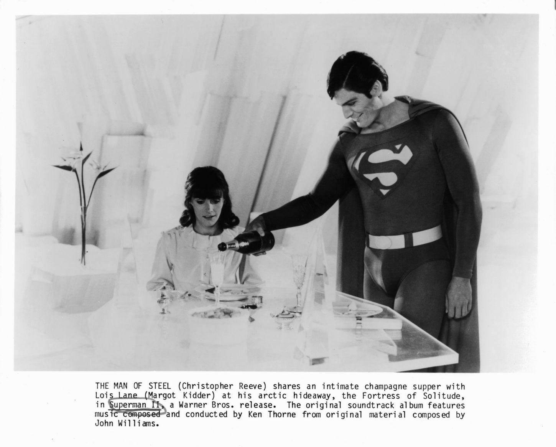 Η Lois Lane με τον Clark Kent