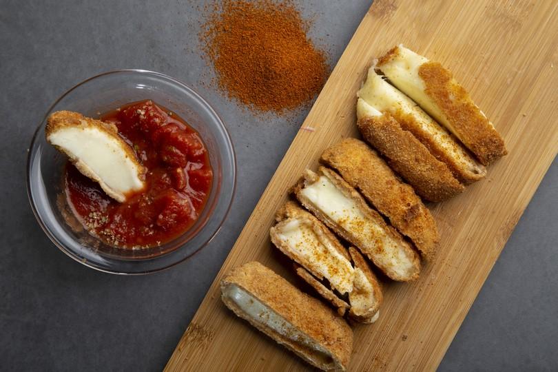 Τσεχία σαγανάκι τυρί
