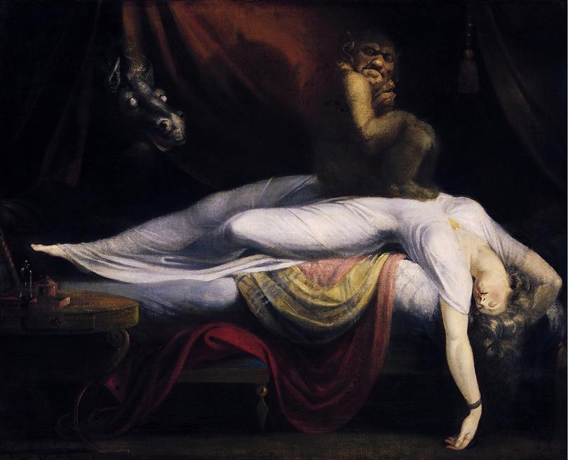H Μόρα σύμφωνα με τον πίνακα του Fuseli
