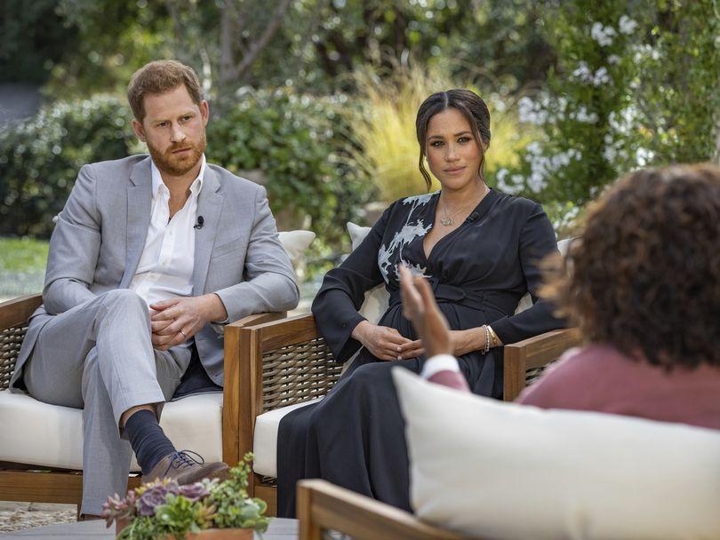 Η Meghan Markle και ο Harry στη συνέντευξή τους με την Oprah Winfrey