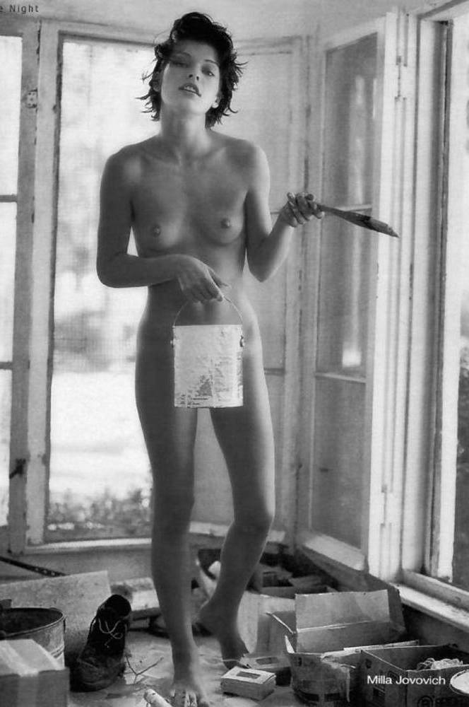 nude-young-milla-jovovich